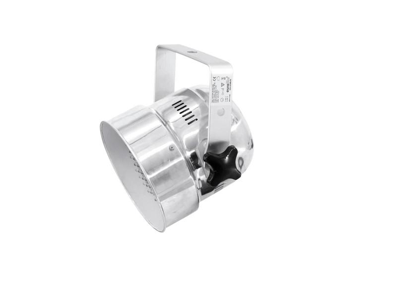 Eurolite LED PAR-56 RGB DMX, 151x5mm LED, stříbrný