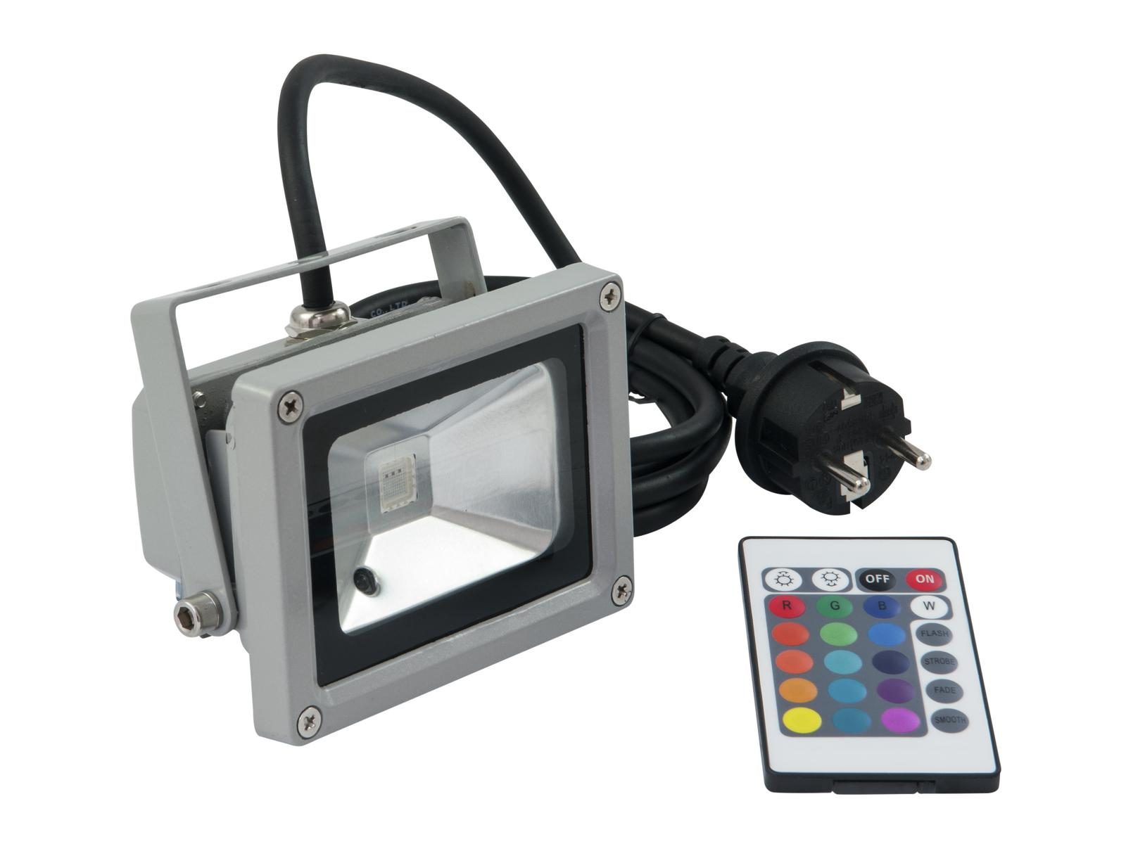 Eurolite LED IP FL-10 COB RGB 120 s dálkovým ovladačem