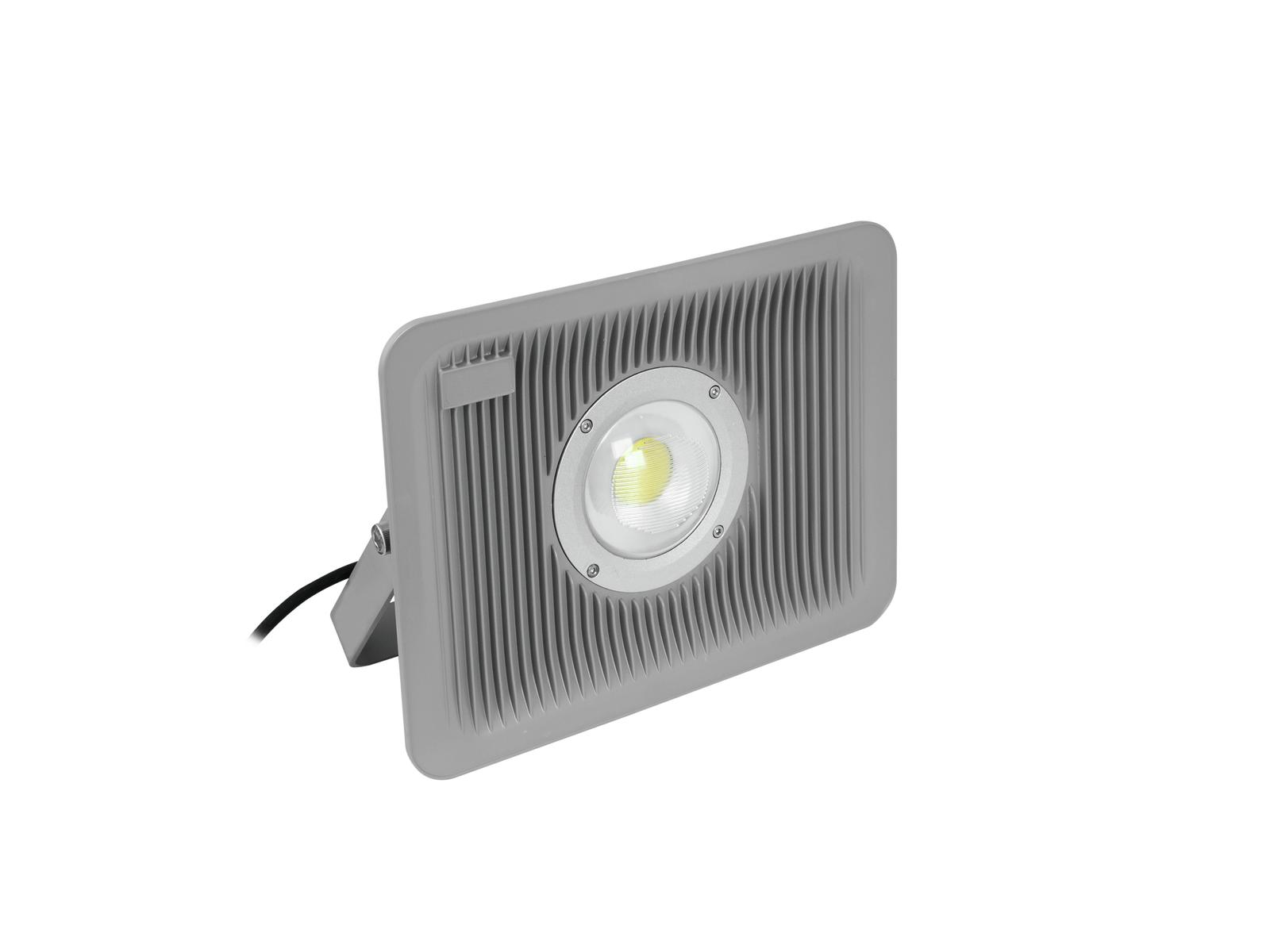 Eurolite LED reflektor IP FL-80 Slim, 1x 80W COB, 3000K, 120, IP65