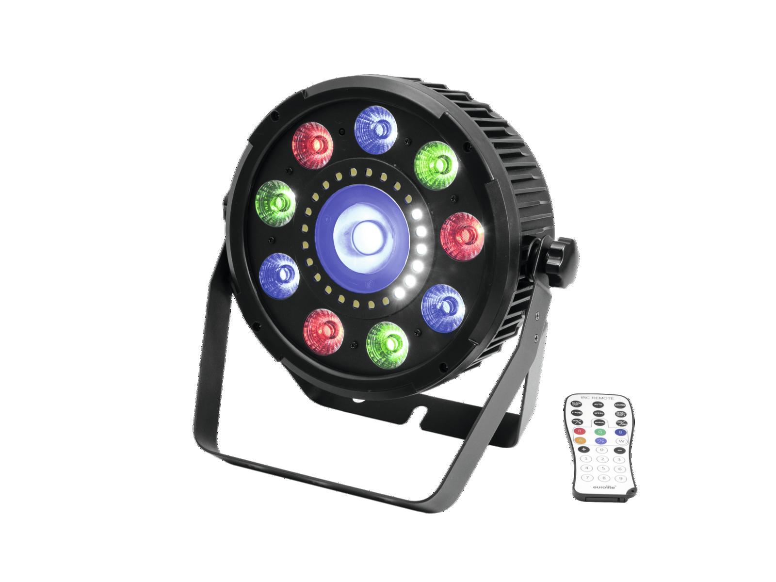 Eurolite LED SLS-9 Hybrid reflektor, 9x10W HCL, 1x 15WQCL, 24xSMD
