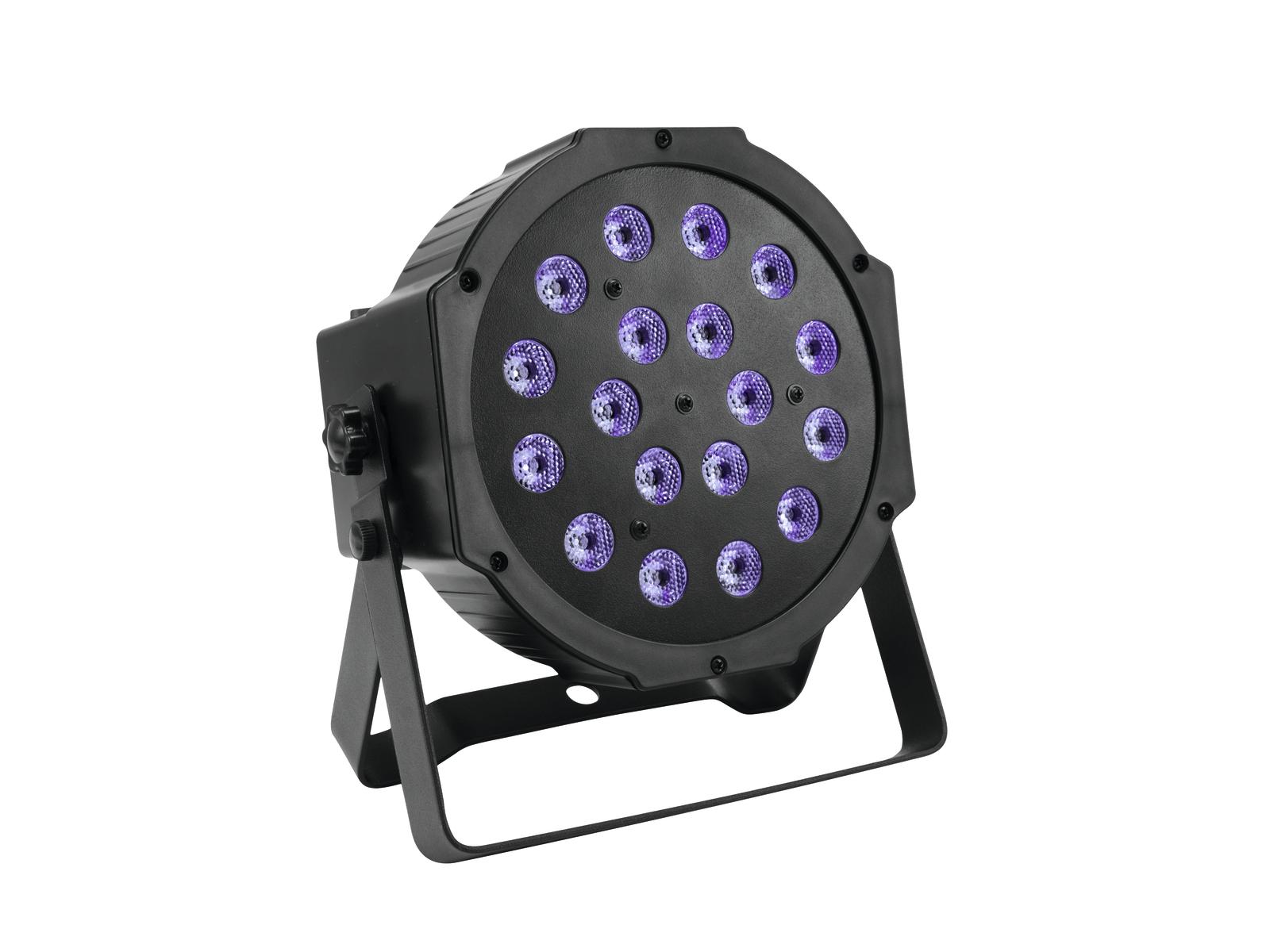 Eurolite LED SLS-180 UV 18x1W LED, Floor reflektor