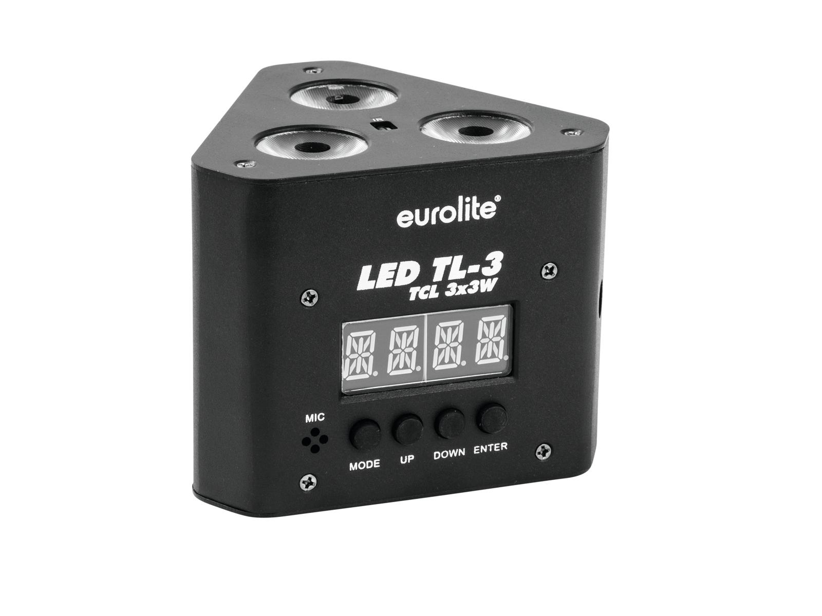 Eurolite LED Trusslight 3x3W TCL, IR
