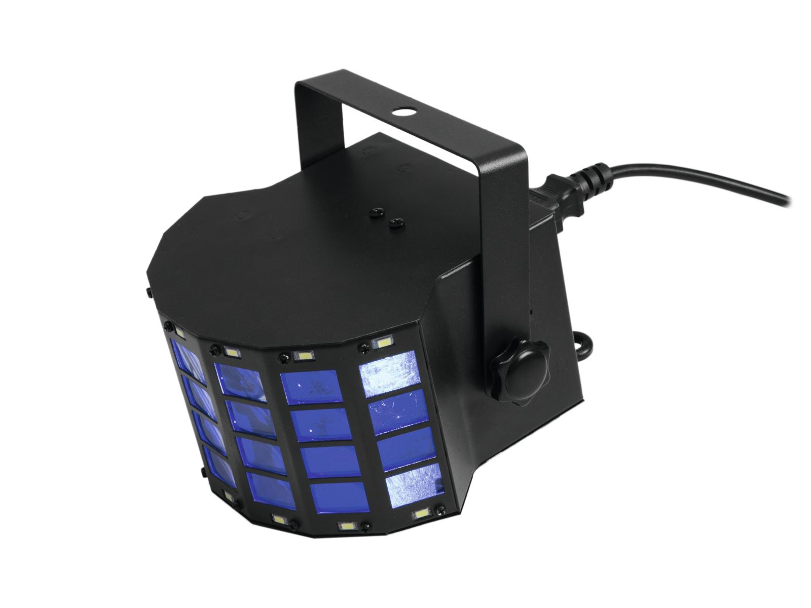 Eurolite LED Mini D-6 Hybrid, paprskový efekt se stroboskopem