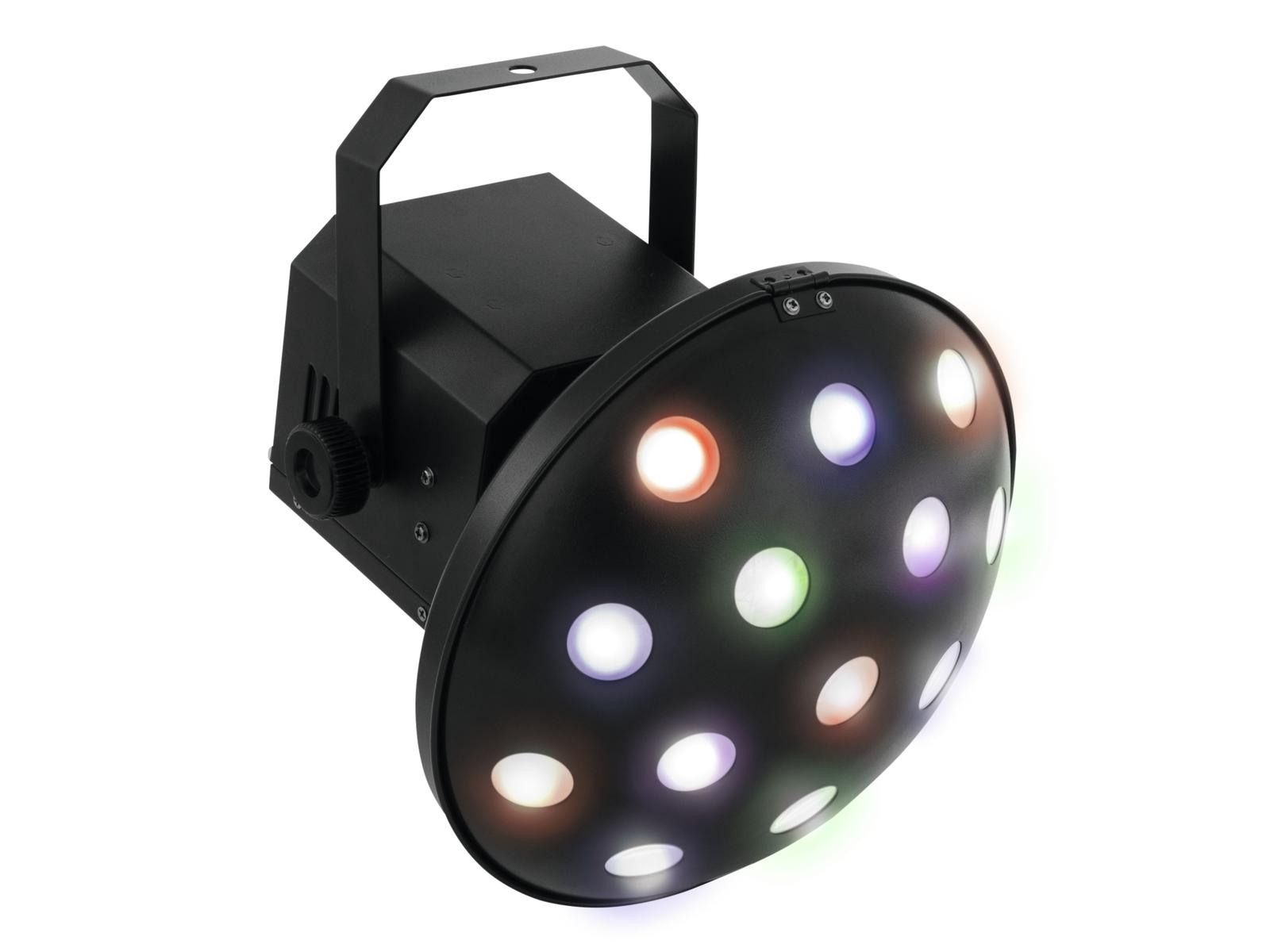 Eurolite LED Zig Zag 6x 3W, paprskový efekt