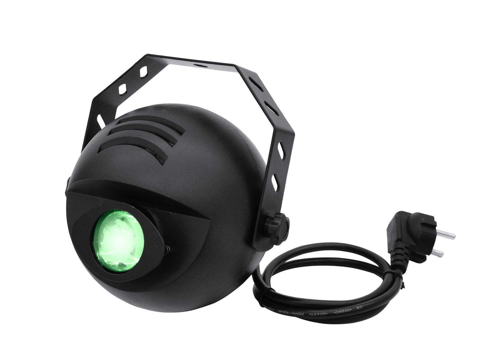 Eurolite LED H2O 1x 9W RGB DMX, parskový efekt