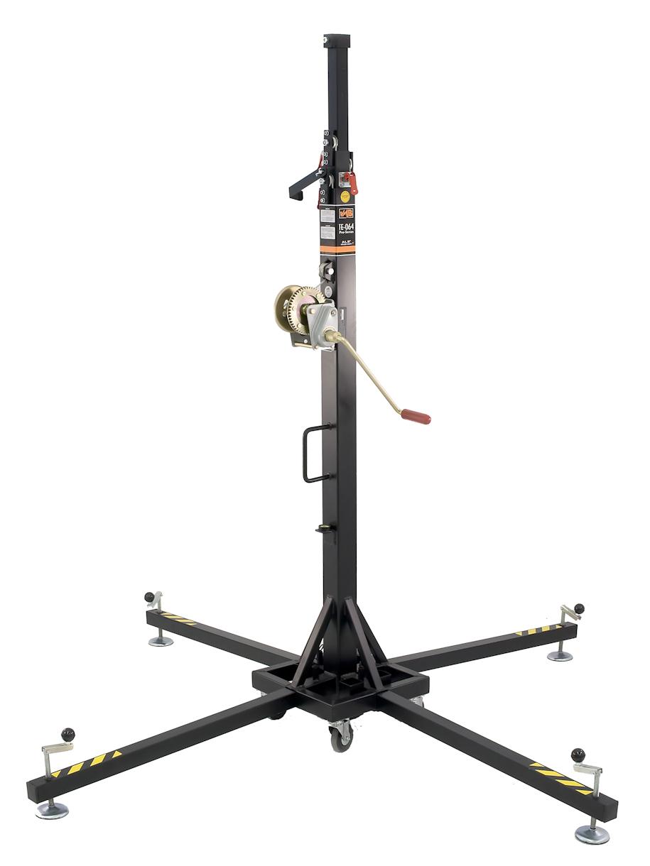 VMB TE-064 PRO teleskopická věž TOWERLIFT, 535cm, 150kg, černá