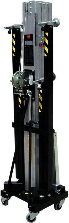 VMB TL-072 PRO teleskopická věž FRONT LOAD, 650cm, 240kg, černá