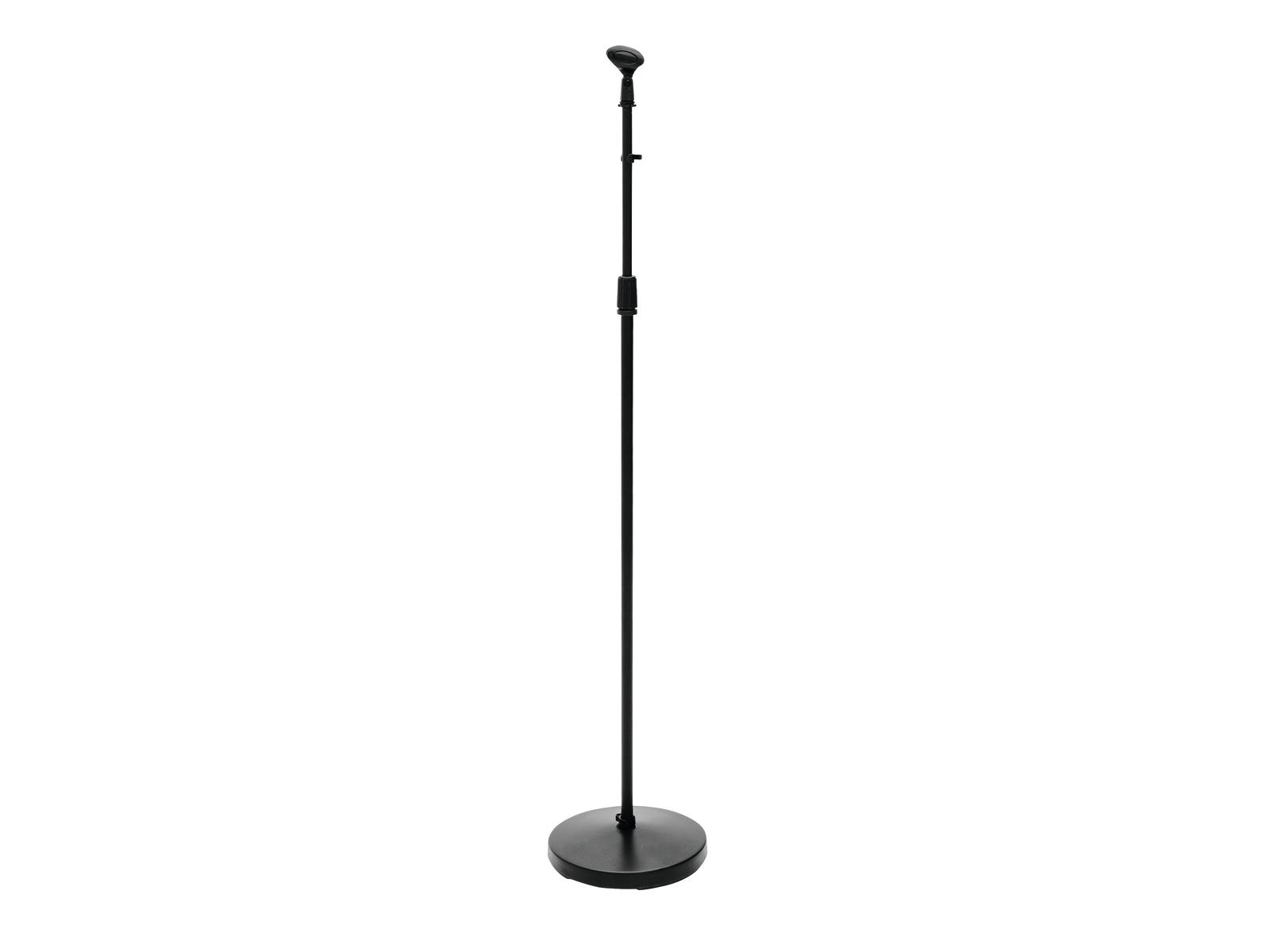 Omnitronic Mikrofonní stojan 100-170cm, černý