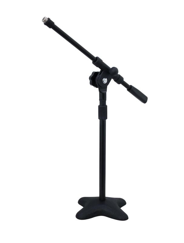 Stolní mikrofonní stojan s ramenem, černý