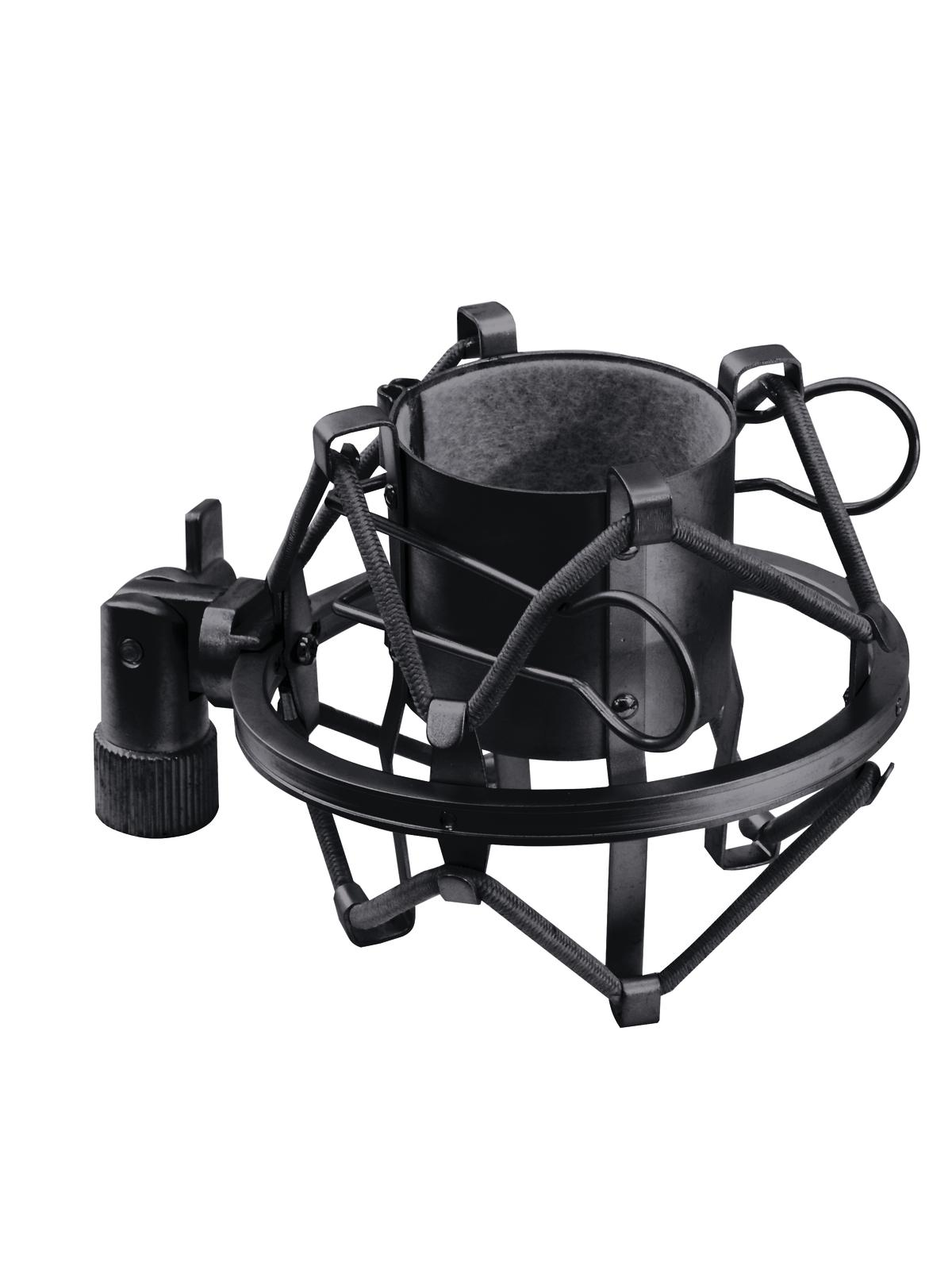 Omnitronic mikrofonní svorka 44-48mm, otřesuvzdorná, černá