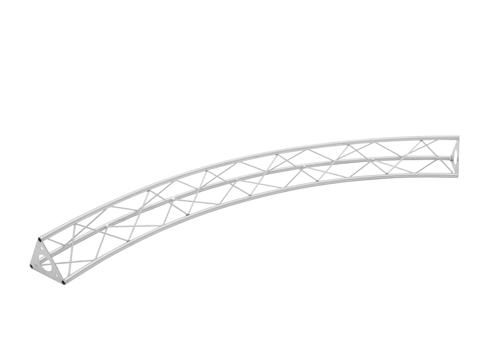 Decotruss Circle 3m section 1570mm, silver