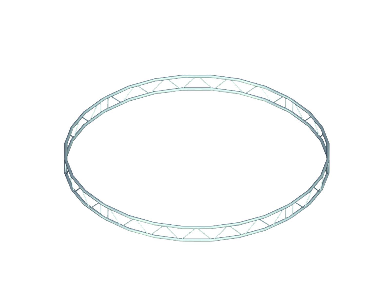 Bilock kruh, d=1,5m (vnitřní strana), vertikální
