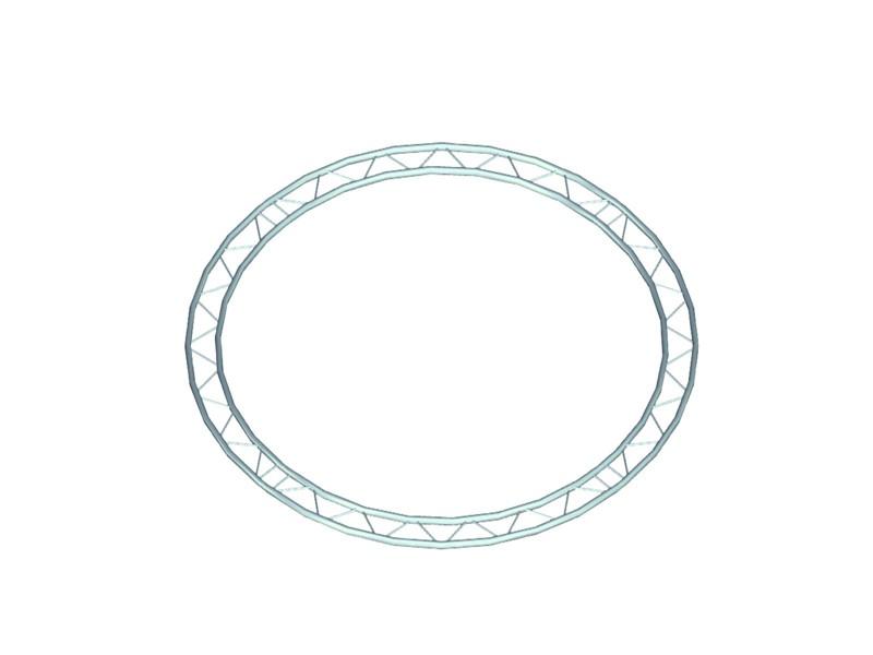 Bilock kruh, d=4m (vnitřní strana), horizontální