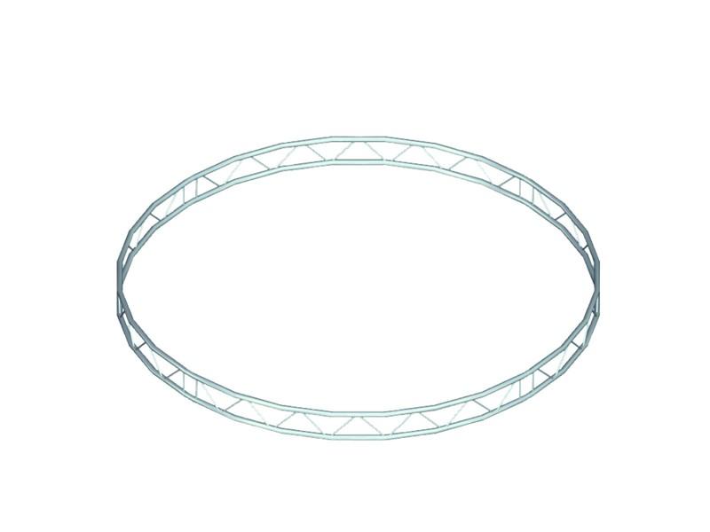 Bilock kruh, d=4m (vnitřní strana), vertikální