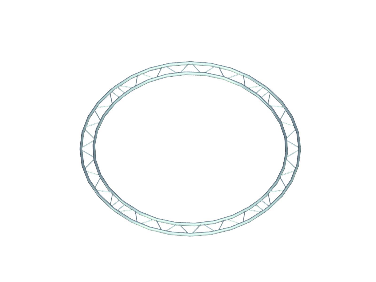 Bilock díl pro kruh d=2 m, vnitřní, horizontální 90°