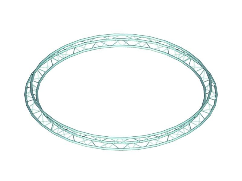 Deco lock DQ-3 kruh, d=4 m (vnitřní), vrcholem vzhůru