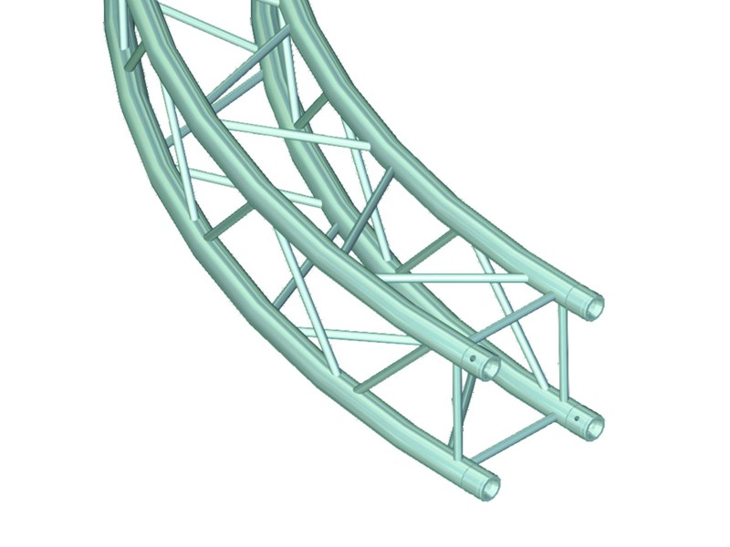 Deco lock DQ-4 díl pro kruh, d=6 m, 45°