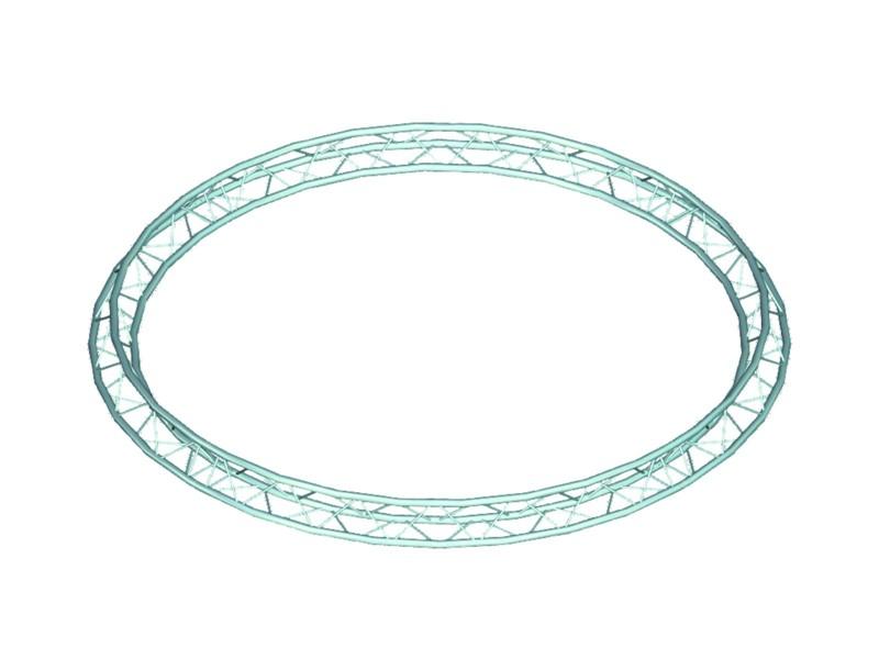 Trilock 6082 kruh, d=8 m (vnitřní), vrcholem dovnitř