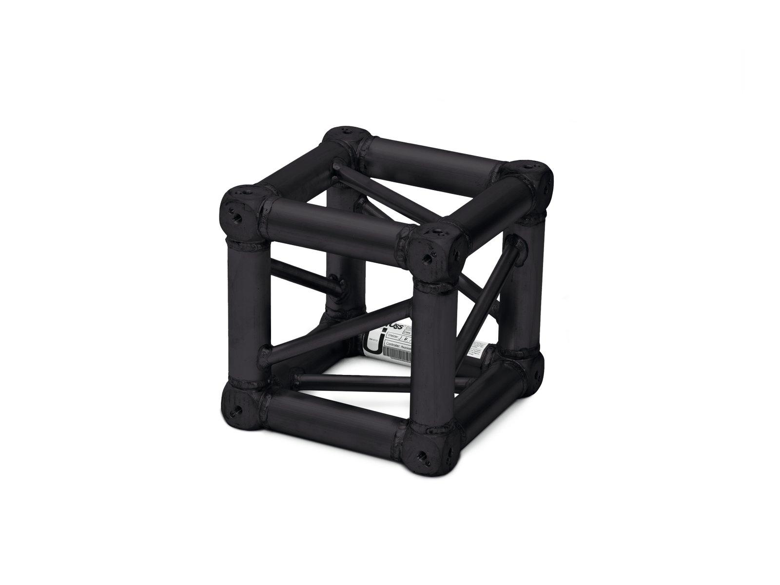 Quadlock S6082, univerzální rohový díl Multicube, černý