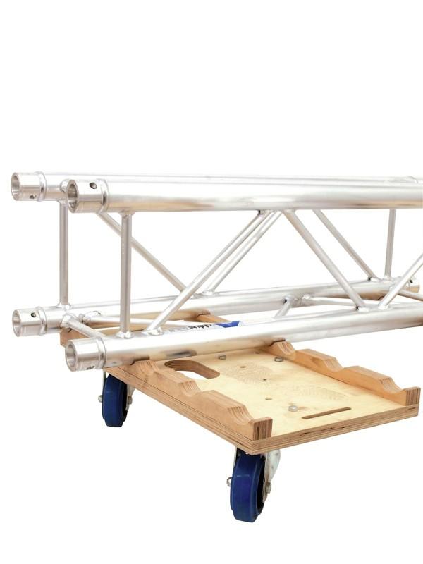 Deska transportní pro konstrukce, kombo s 3 kolečky