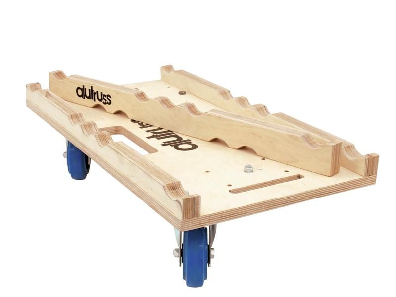 Deska transportní pro konstrukce, Trio s 3 kolečky