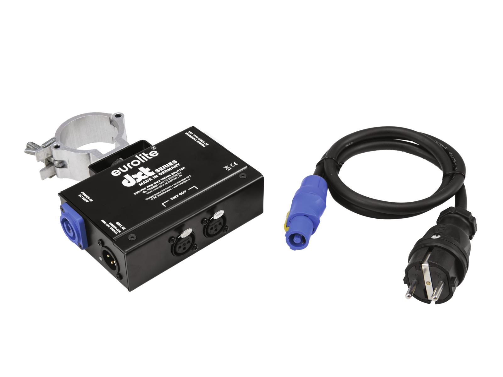 Eurolite DXT-TSP PRO DMX rozbočovač 1x IN/2x OUT, závěsný