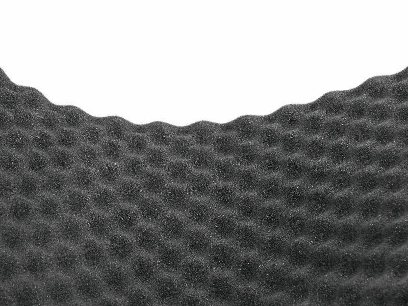 Akustický tlumící panel, vlnky 40mm, rozměr, 100x206cm