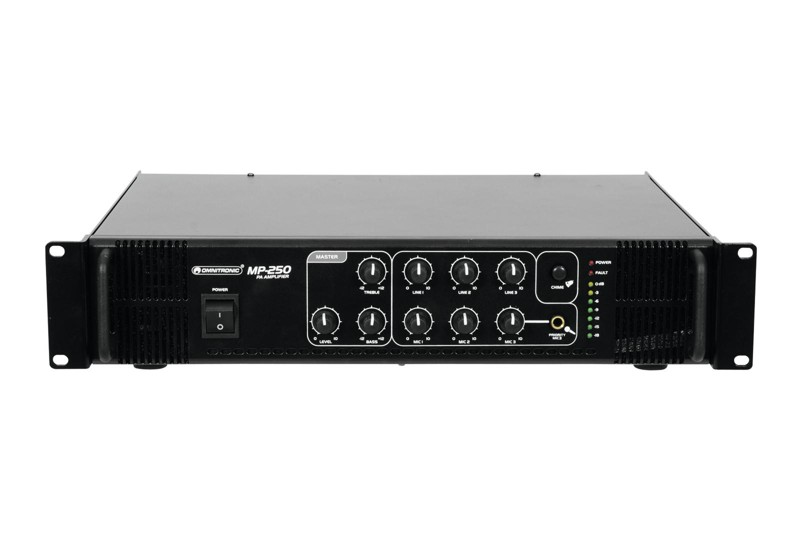 Omnitronic MP-250, mixážní zesilovač