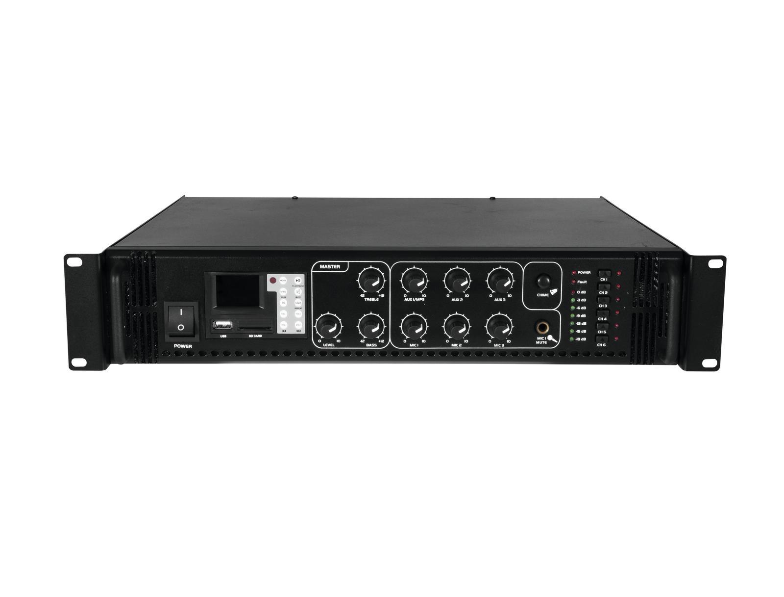 Omnitronic MPZ-500.6P PA zesilovač
