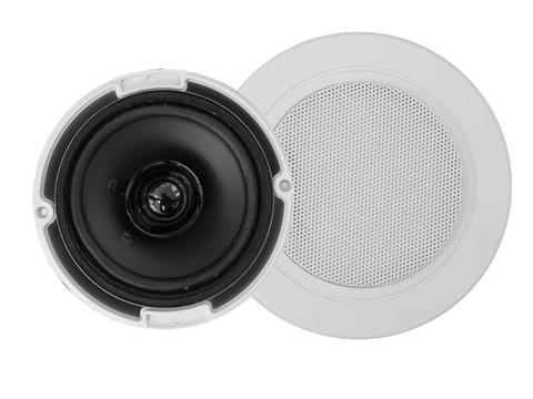 "Omnitronic CSC-3 podhledový reproduktor 3,5"", bílý"