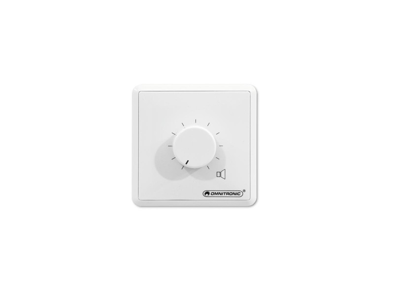Omnitronic ELA LS - regulátor mono 45 W - bílý