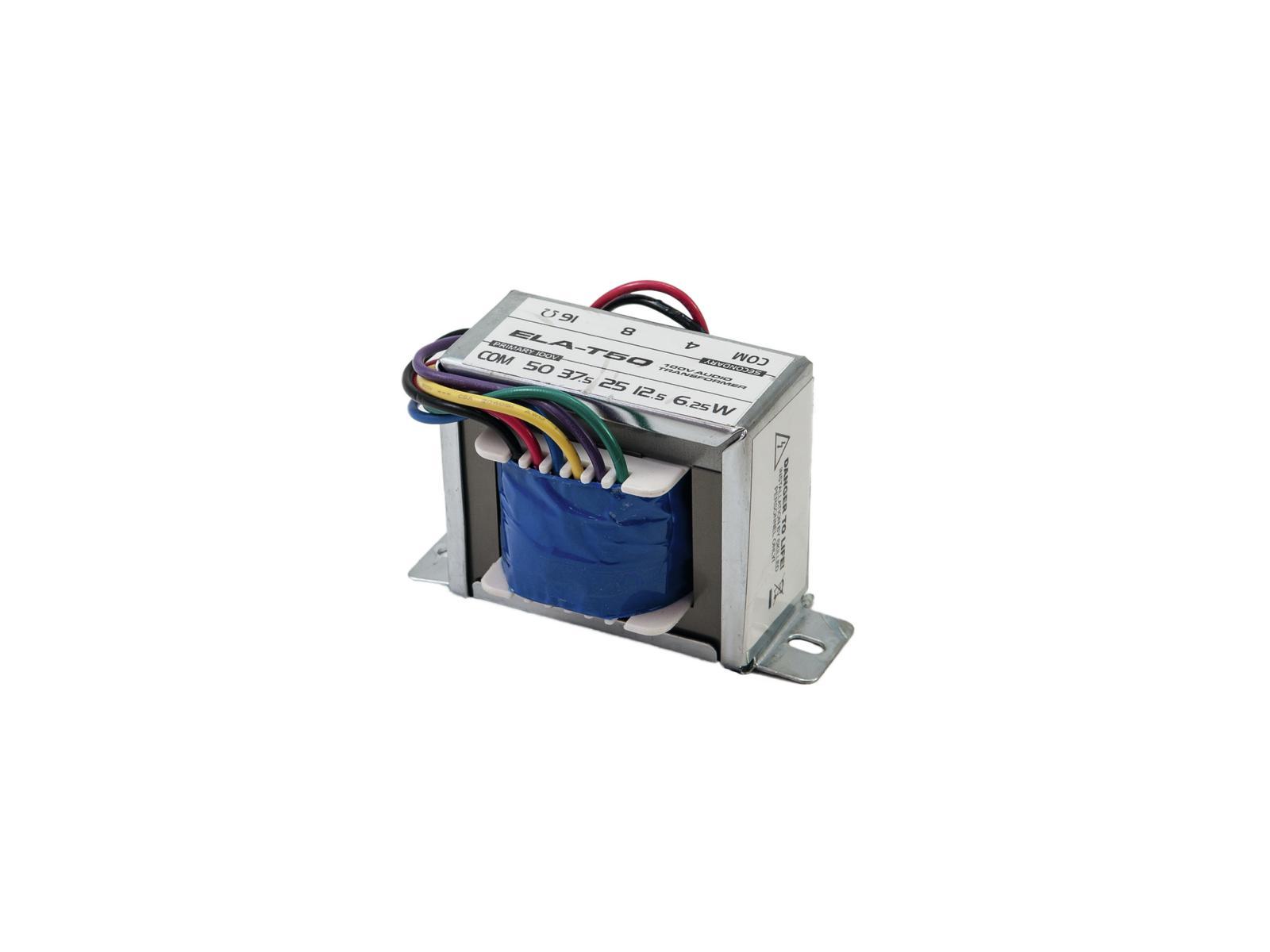 Omnitronic ELA-T50, 50W 4/8/16 Ohm