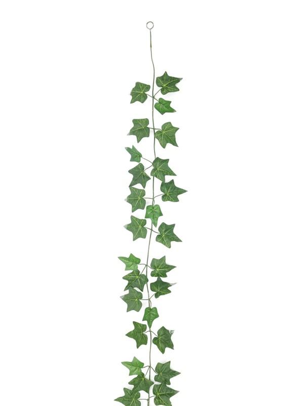 Girlanda z břečťanu světle zelená, 180 cm