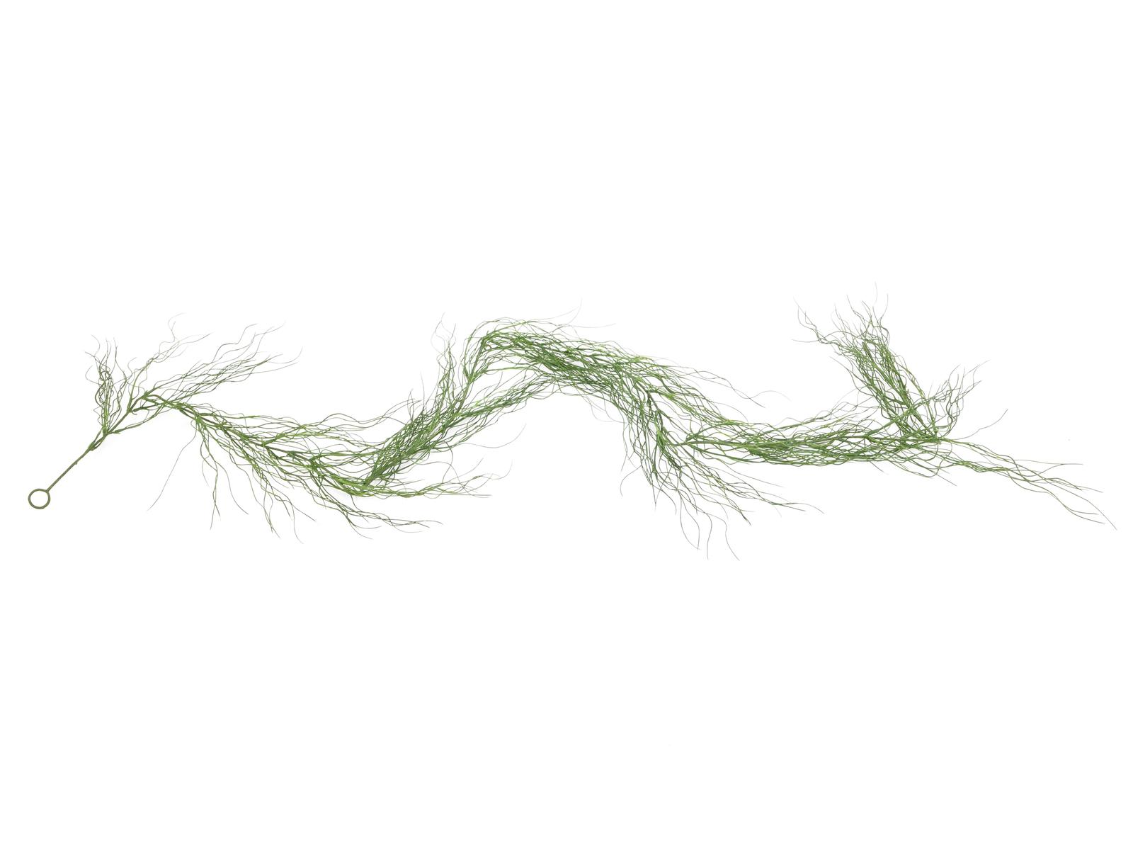 Girlanda z trávy zelená, 180 cm