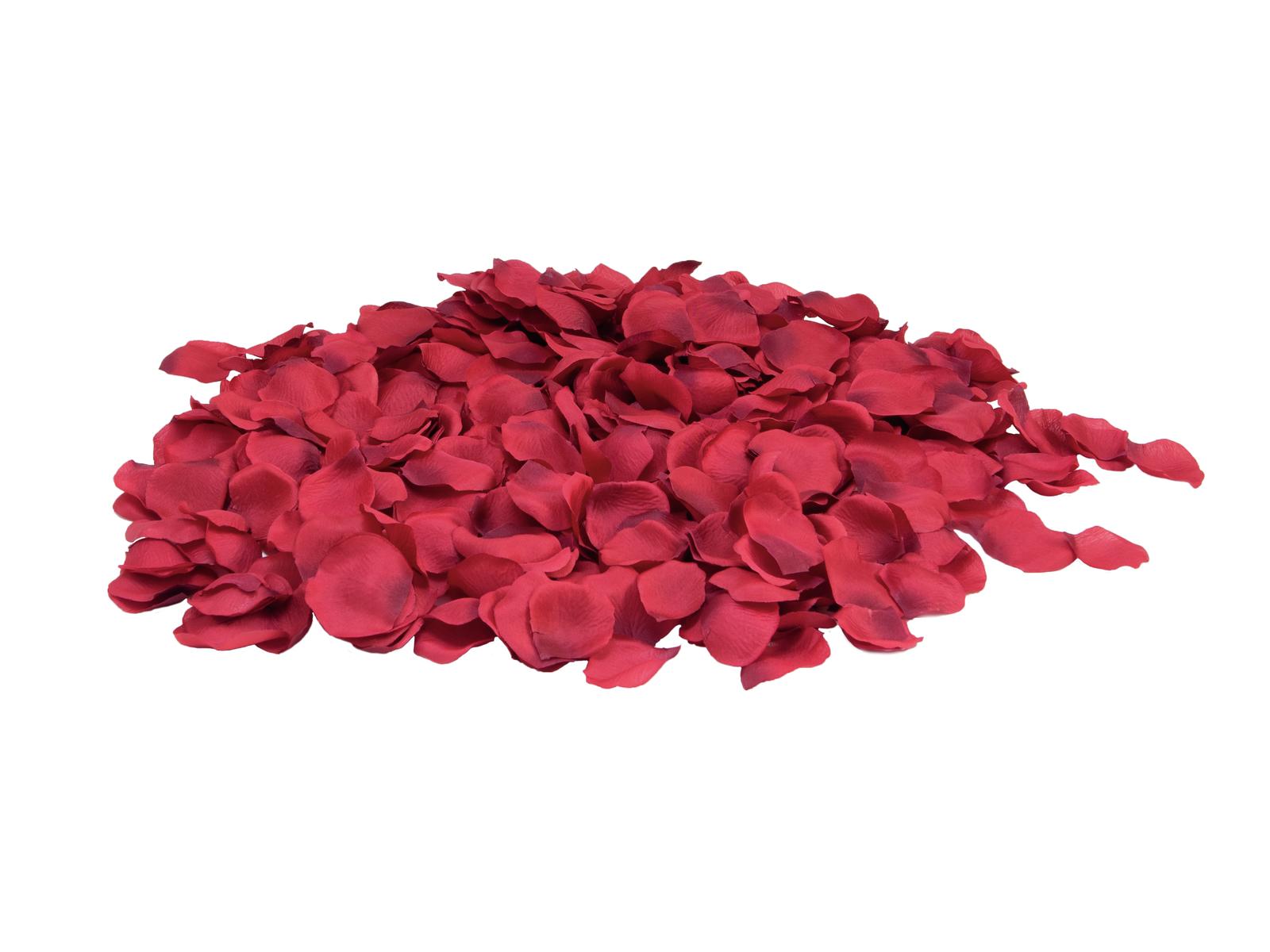 Okvětní lístky růže, červené, 500 ks