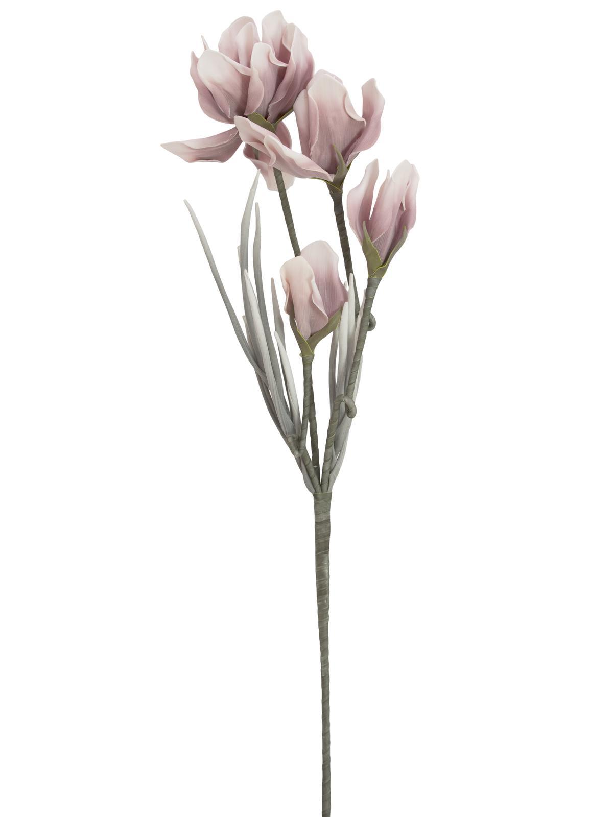 Větvička magnolie (EVA), růžová