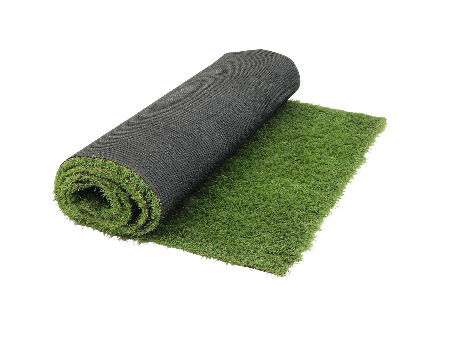 Umělý trávník - světle zelený, odolný proti UV zážení, 1x 3 m