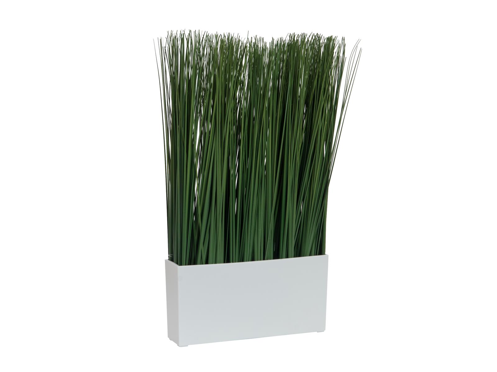 Umělá tráva, tmavě zelená, 50 x 27 cm