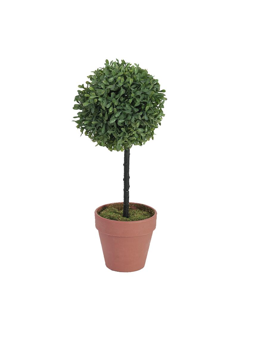 Zelený stromek kulový, 39 cm
