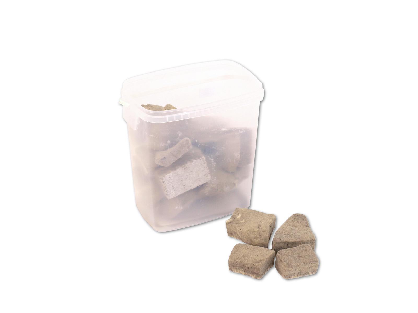 Umělé dekorační kamínky, šampaň, 20 g, 11 l