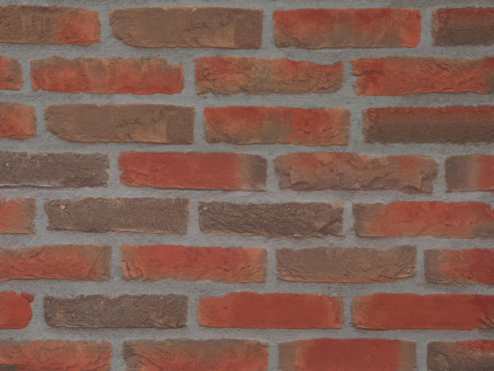 Dekorační látka, Cihly, 150x100 CM