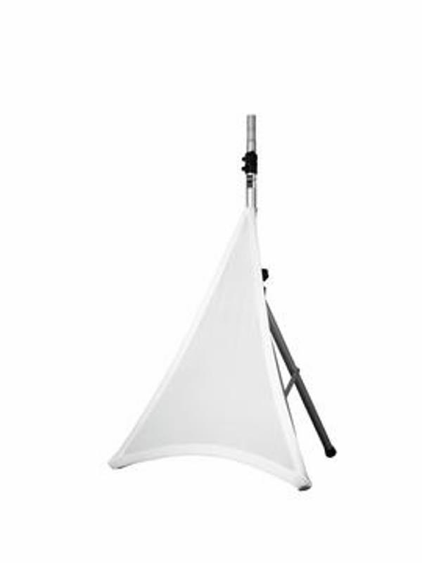 Kryt stojanu elastický BUS1KW, jednostranný, bílý