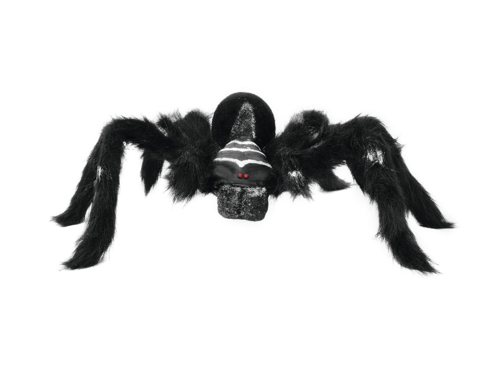 Halloween pavouk černý