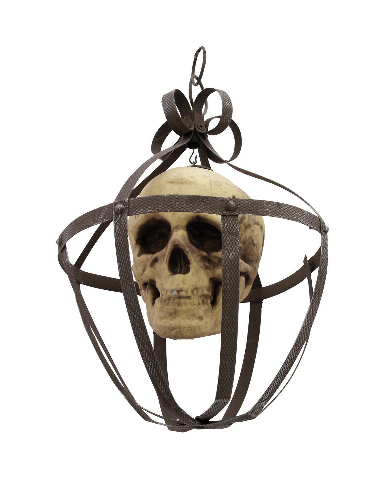 Halloween lucerna s lebkou