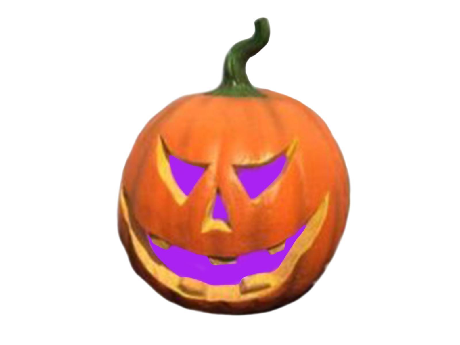 Halloween dýně svítící, RGB, 29 cm