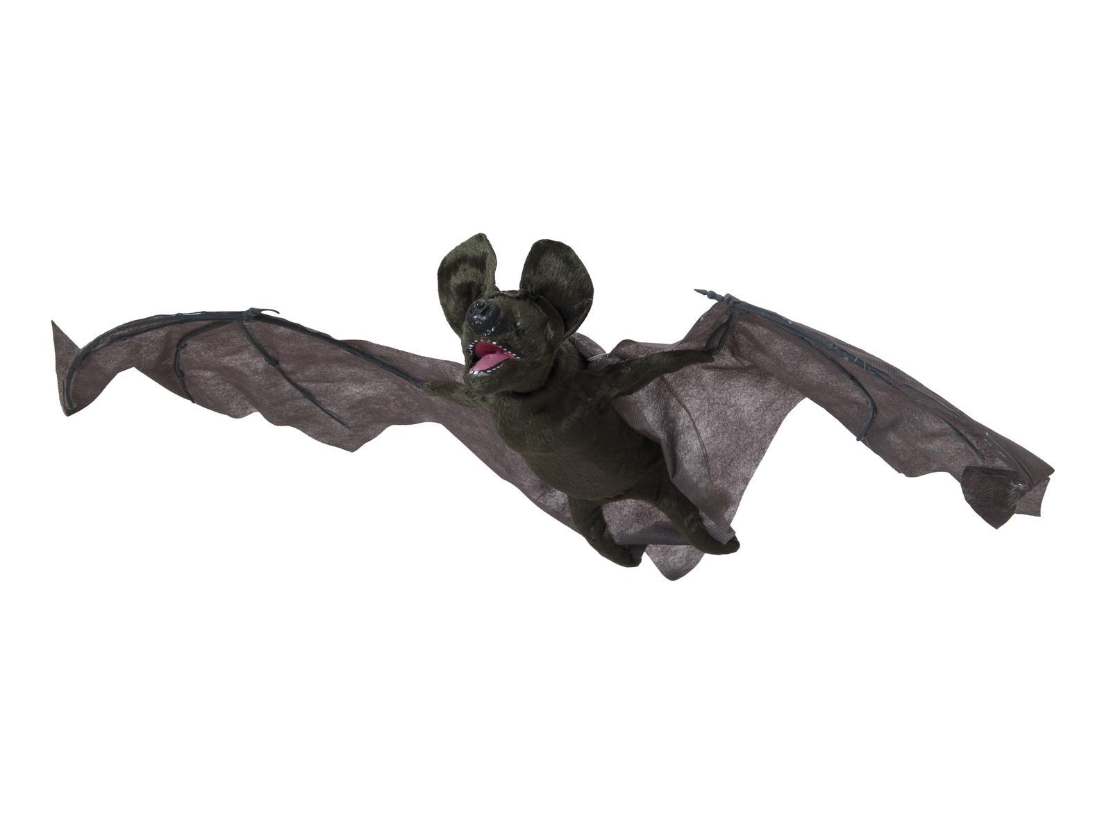 Halloween hýbající se netopýr
