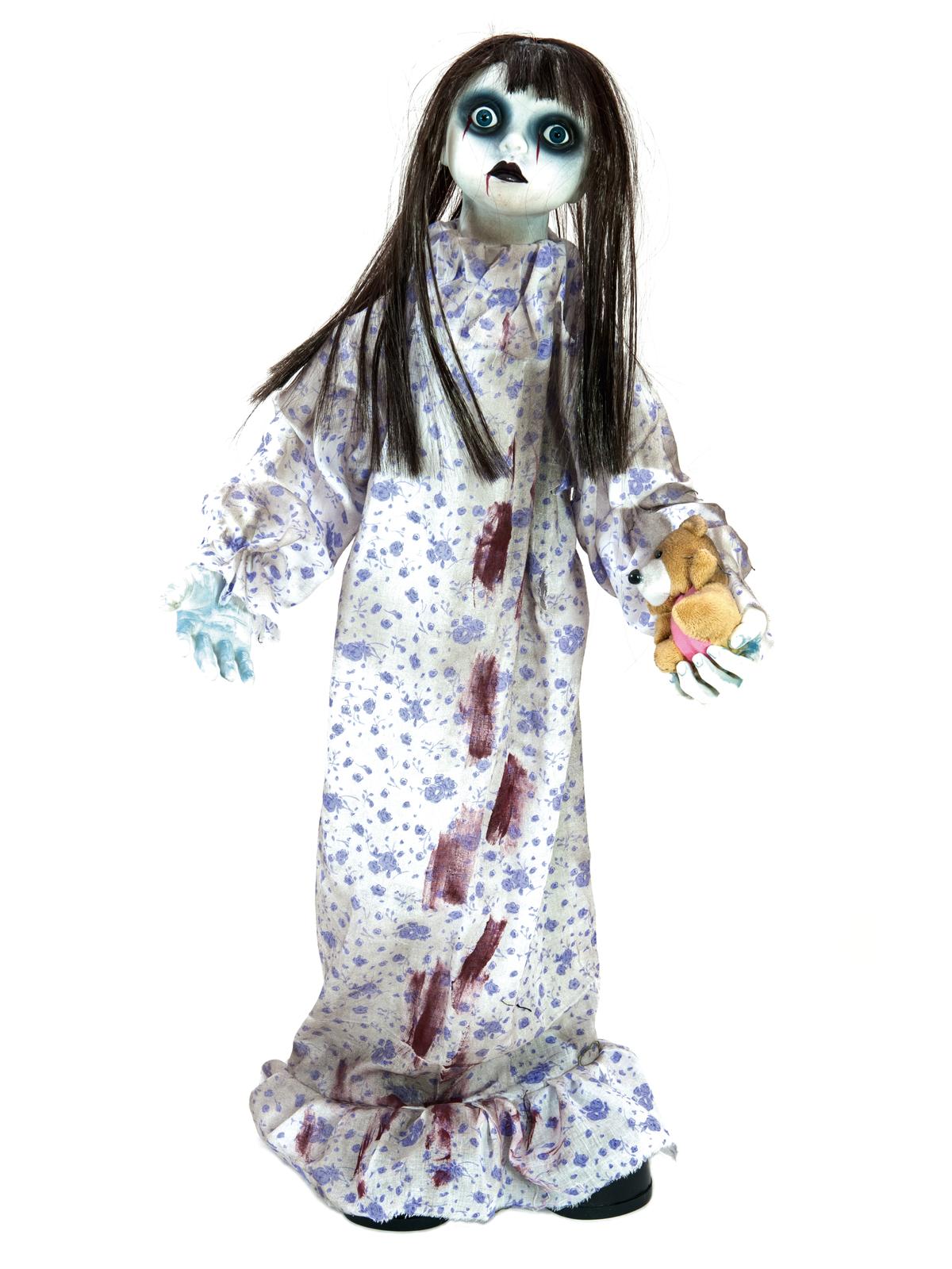 Halloween animovaná panenka