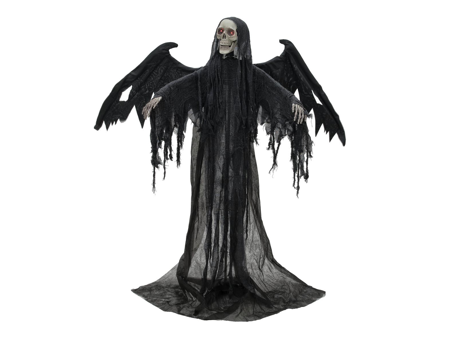 Halloween černý anděl, 175cm