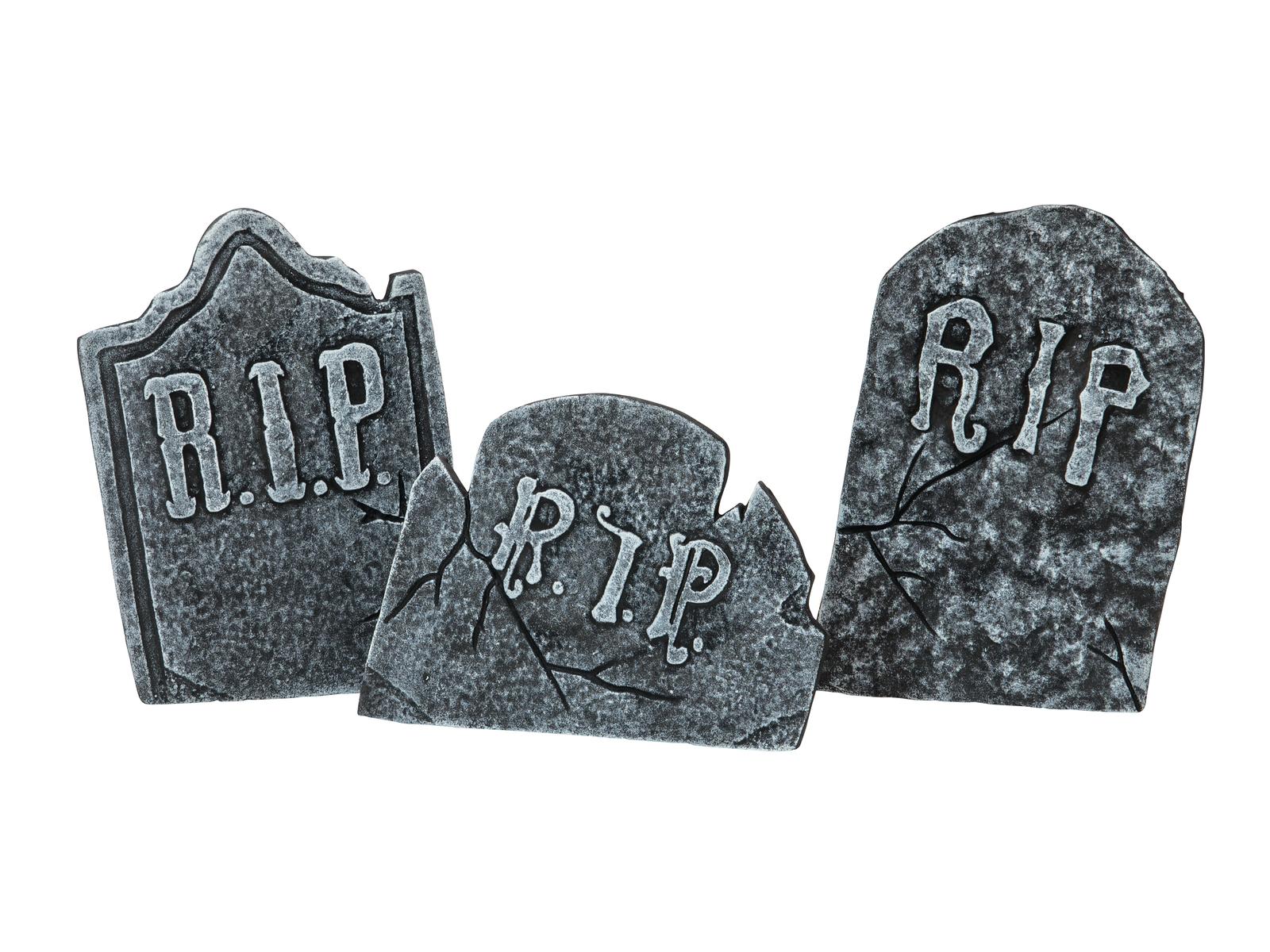 Halloween náhrobky Set