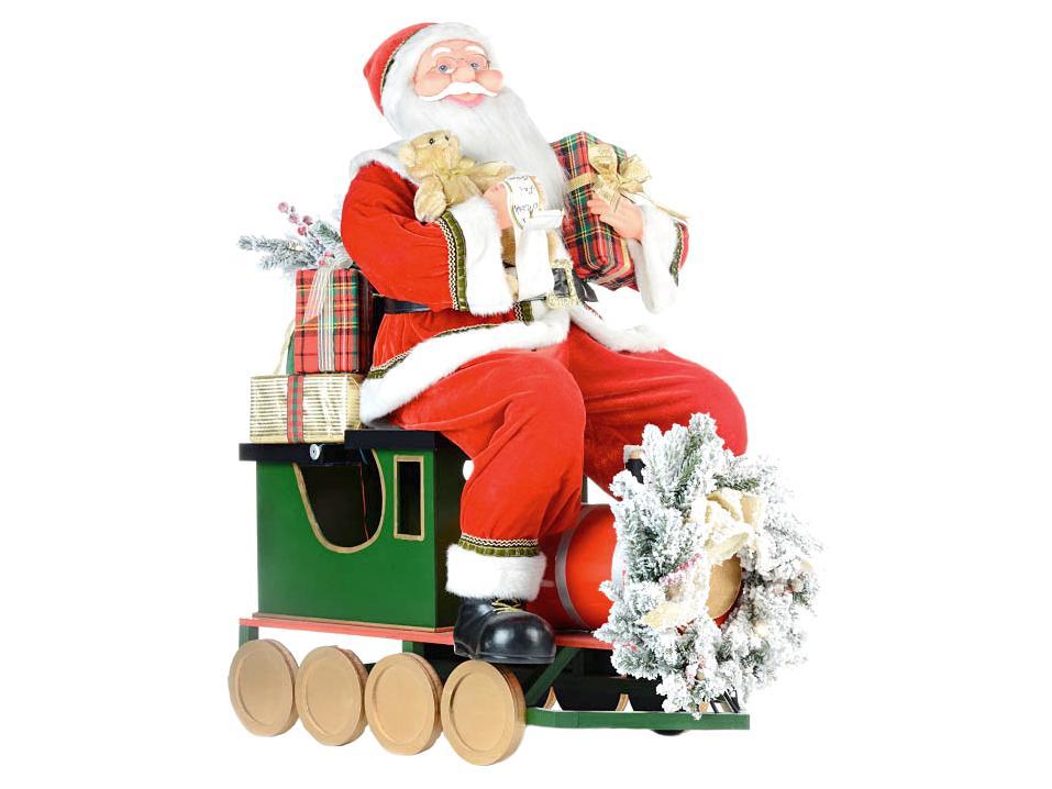 Santa s dárky, 90cm